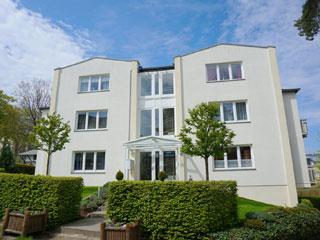 Villa Seestern - Am Dünenstrand - Ferienwohnungen in Heringsdorf